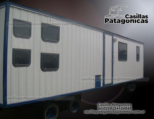 casilla rural trailer petrolero modulo vivienda oficina etc