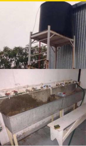 casilla sanitario con 11 duchas y sanitarios envio al pais
