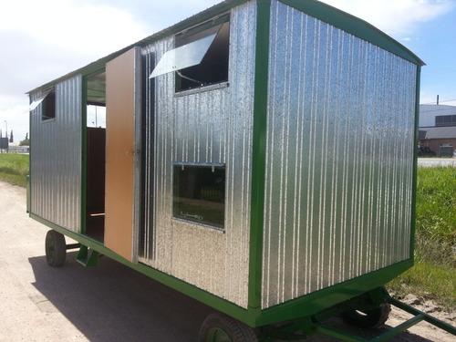 casillas rurales nuevas, lista para retirar 2/4 camas c/baño