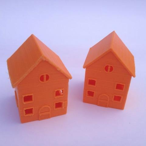 casinha brinquedo de plástico maquete cidade cores