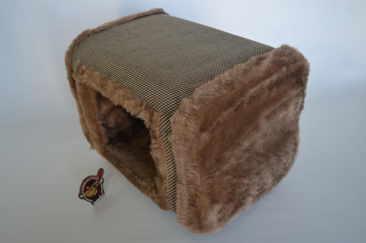 Casinha casa cama para gato ou cachorro pequeno em - Cama para gato ...