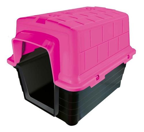 casinha casa para cães n.3 rosa furacão pet