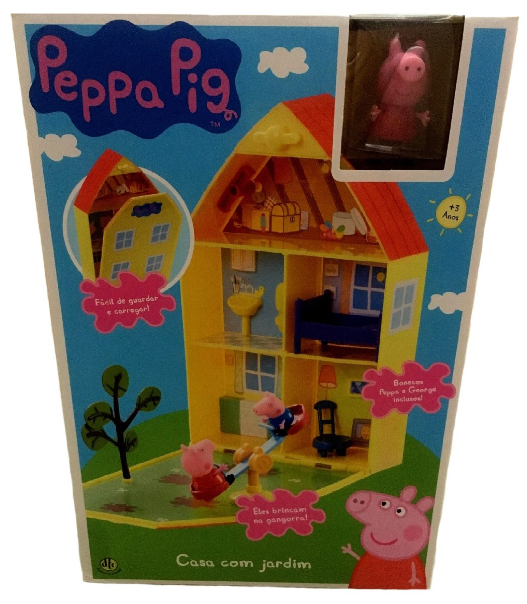 casinha da peppa - casa peppa pig - original direto dos eua