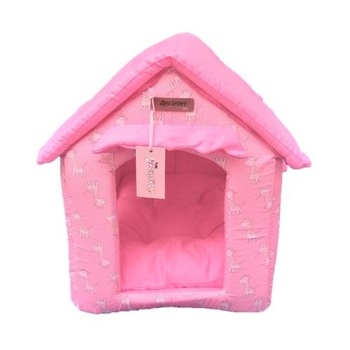 casinha casa toca em tecido para cachorro - agridoce