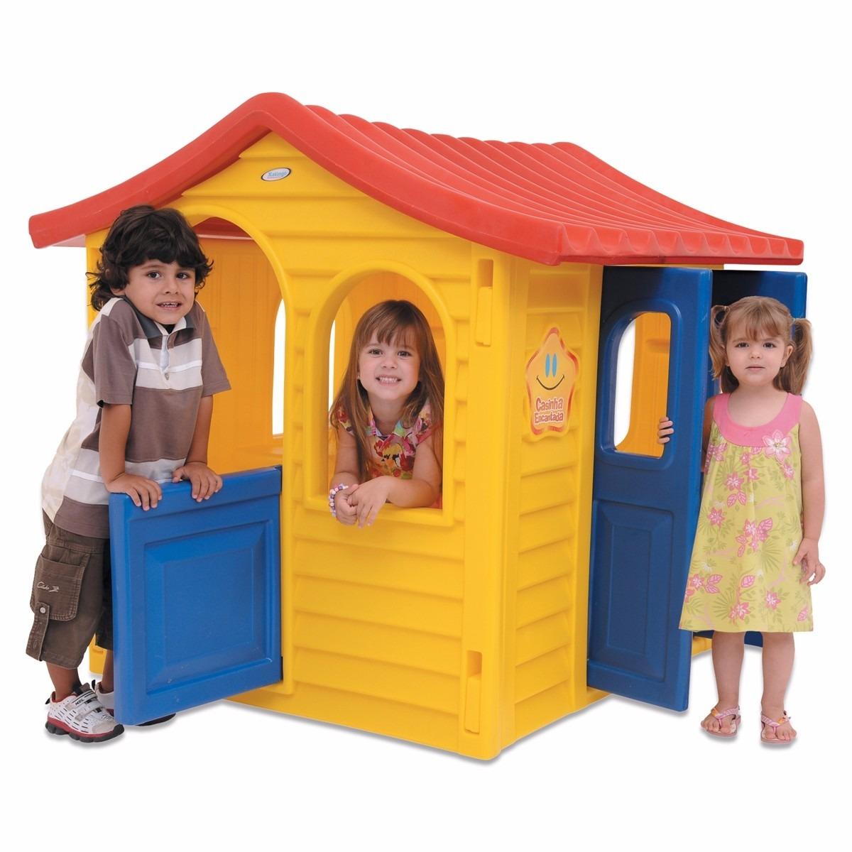 casinha de boneca encantada brinquedo infantil xalingo r