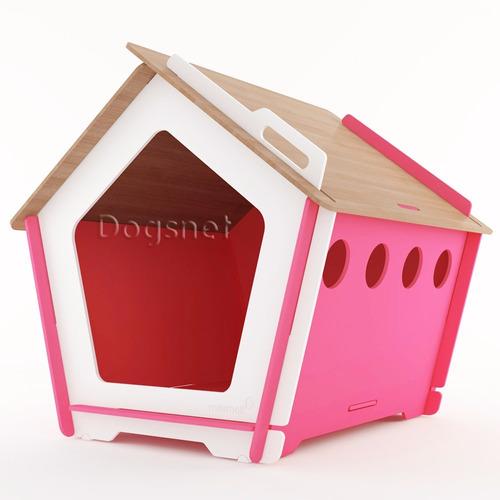 casinha de cachorro grande - madeira desmontável - king - g