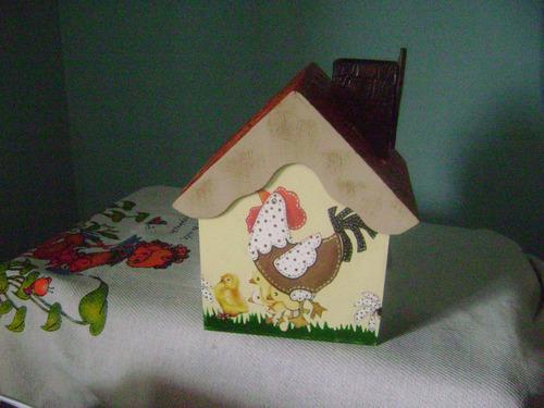 casinha de joia galinha