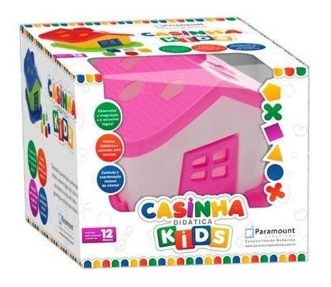casinha didatica blocos de encaixe brinquedo educativo bebe