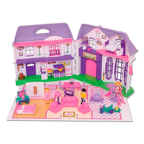casinha infantil lar doce lar braskit boneca - original
