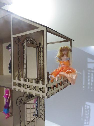 casinha para boneca barbie +  moveis