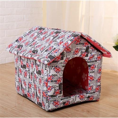 casinha para cachorro gato pet casa com cama almofada luxo