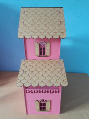 casinha polly pintada rosa +27 mini moveis show!!