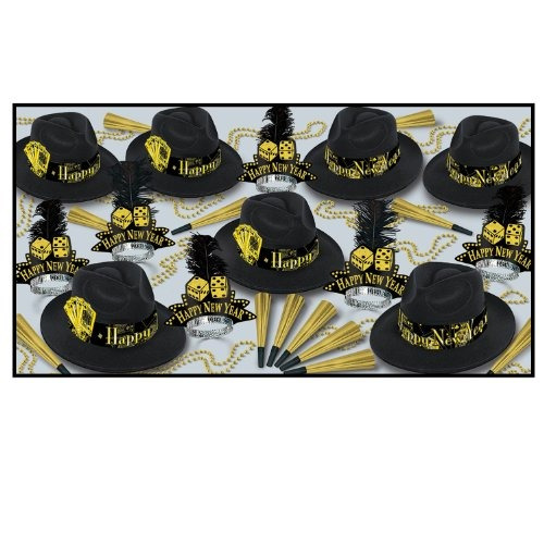 casino gold asst para 50 party accesory (1 cuenta)