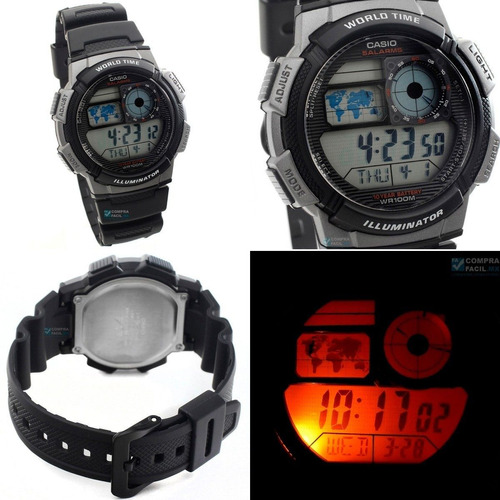 casio ae 1000 resist water originales .. no copias chinas!!!
