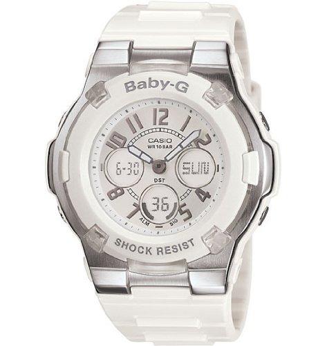 casio bga110 7b baby g reloj deportivo blanco