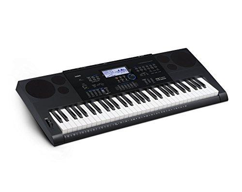 casio cª ctk6200 epa 61-key teclado paquete premium con...