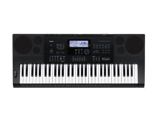 casio cª ctk6200 ppk 61-key teclado paquete premium con...