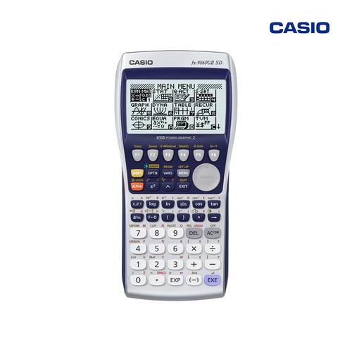 casio calculadora gráfica con memoria sd fx-9860giisd