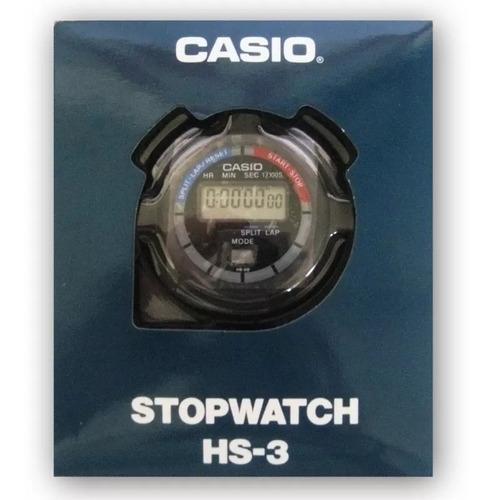 3ae31a6ffd Casio Cronometro Hs-3 Profissional Stopwatch Lap Split Wr - R  134 ...