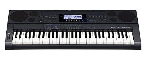 casio ctk6000 teclado sensible al tacto de 61 teclas