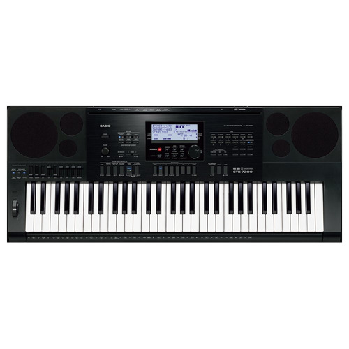 casio ctk7200 teclado personal de 61 teclas con fuente de