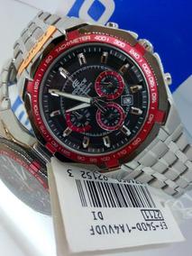 4440e5fb1542 Relogio Casio Edifice Ef500 Vermelho - Relógios no Mercado Livre Brasil