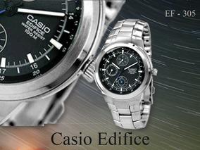 26674cae78b1 Correa Para Casio Ef 305 - Joyas y Relojes en Mercado Libre México
