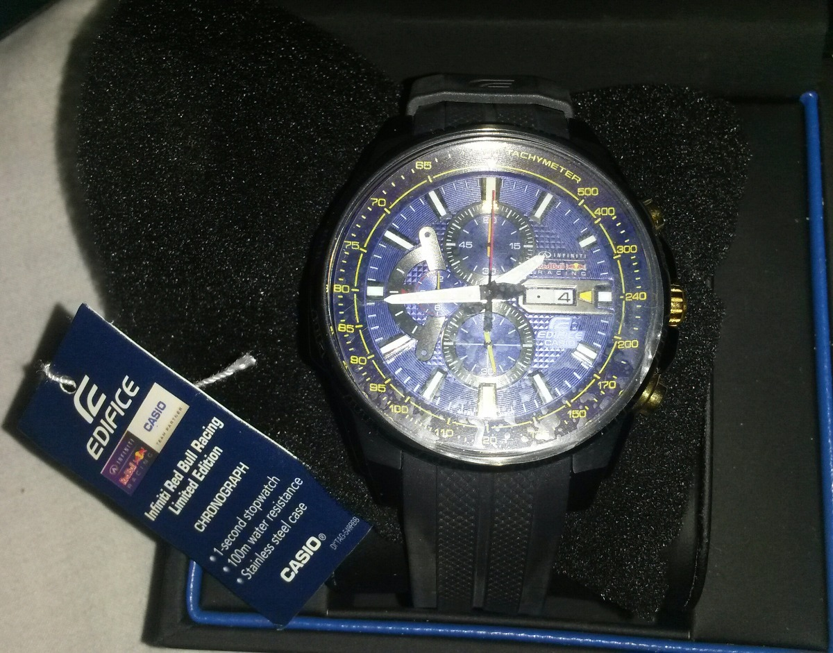 Casio Edifice Red Bull Racing Limited Edition Efr 549rbp 2a