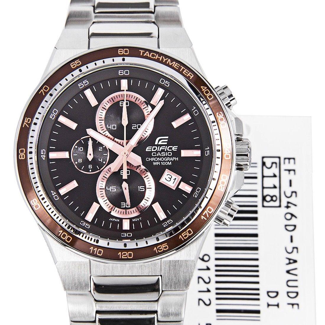 5b766556e249 Casio Ef-546d-5a Hombres Edifice Reloj Ef546 Esfera... -   160.990 ...