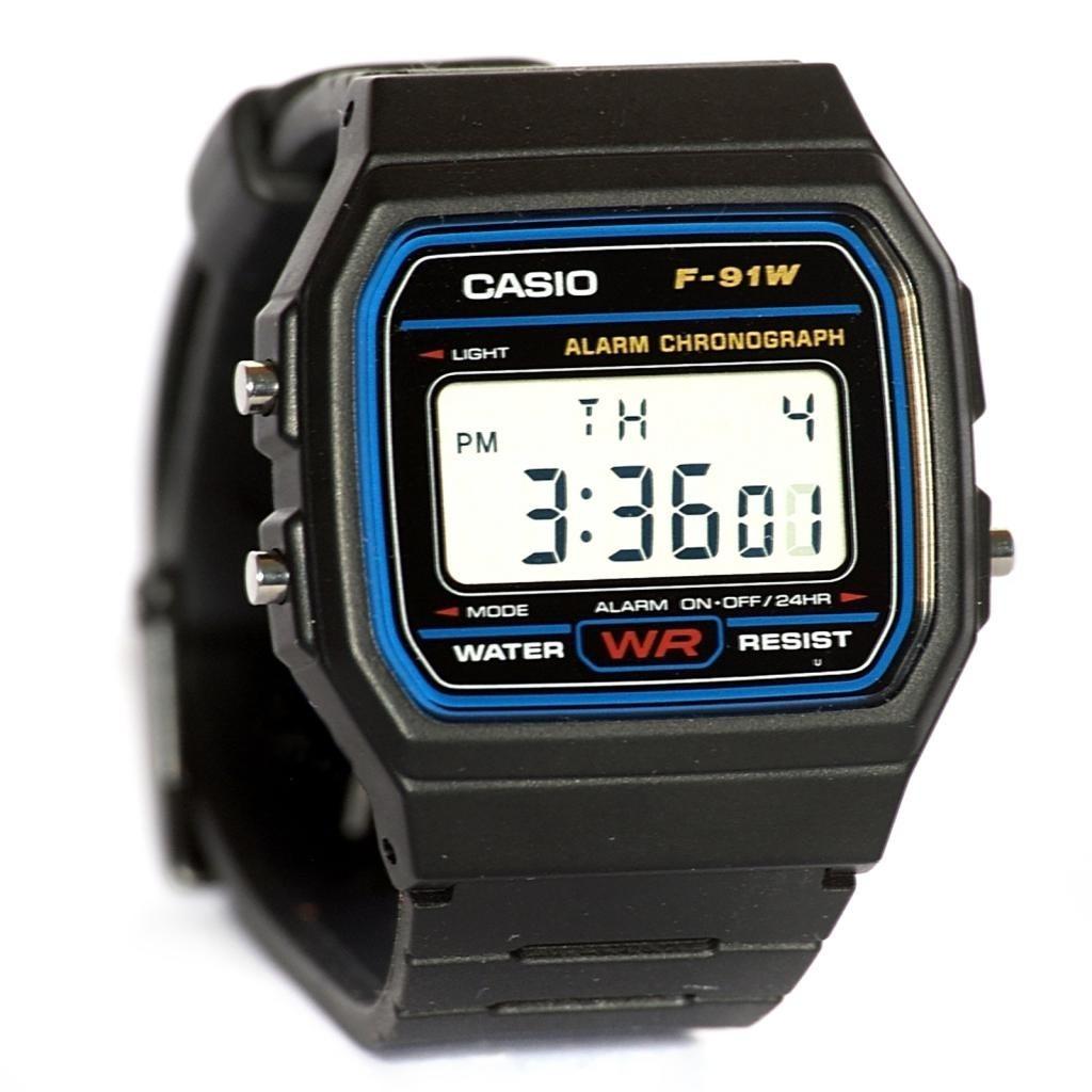 3b83cf71a casio f-91 digital alarme cronômetro original retro casio. Carregando zoom.