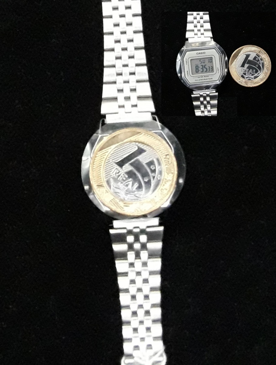 f9d37ac7b88 Relógio Casio Vintage Feminino La680wa-7df Nf E Garantia - R  258