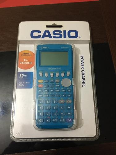 casio fx 7400gii graphic calculator