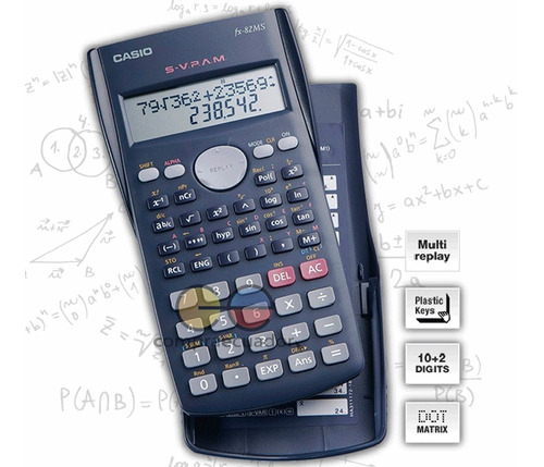 casio fx-82 ms calculadora cientifica 240 funciones a a