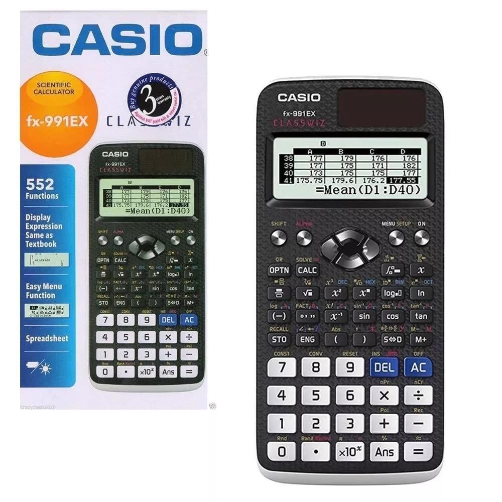 009718ffa08e Casio Fx -991ex Classwiz Calculadora Científica Cuotas -   2.379