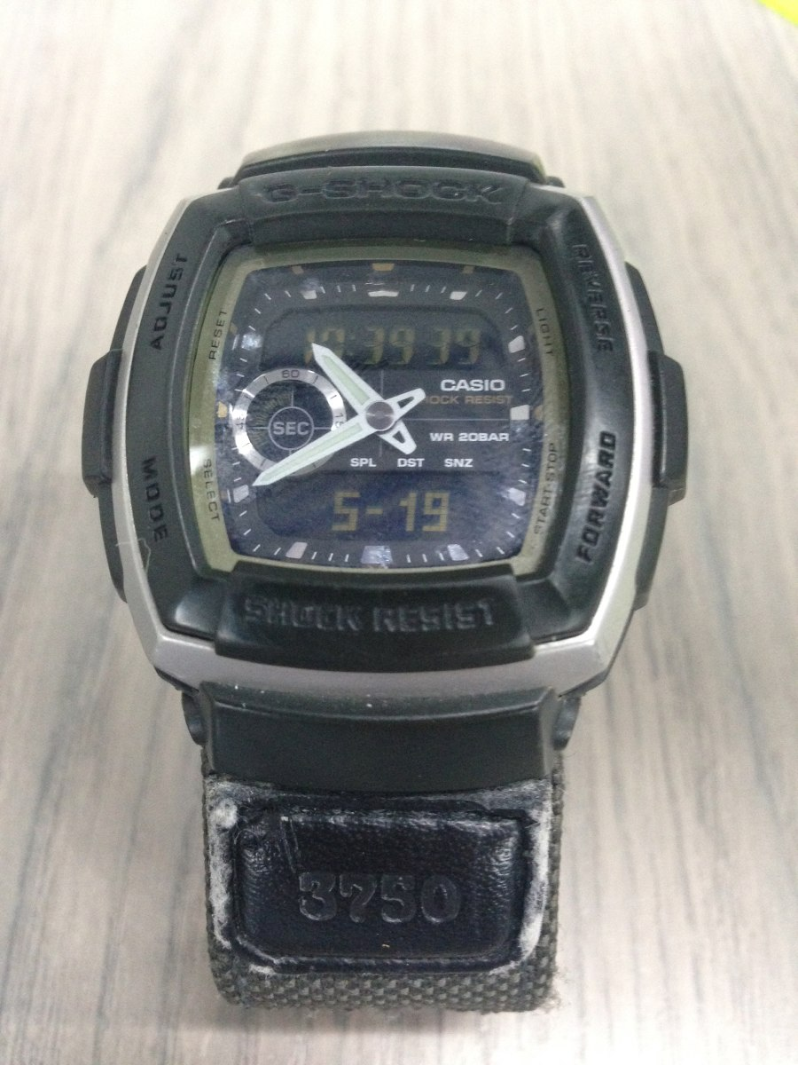 new product 9ddf6 d2e90 Casio G - Shock 3750 G - 353ms 20 Bar Metros De Profundidad - Bs. 0,25