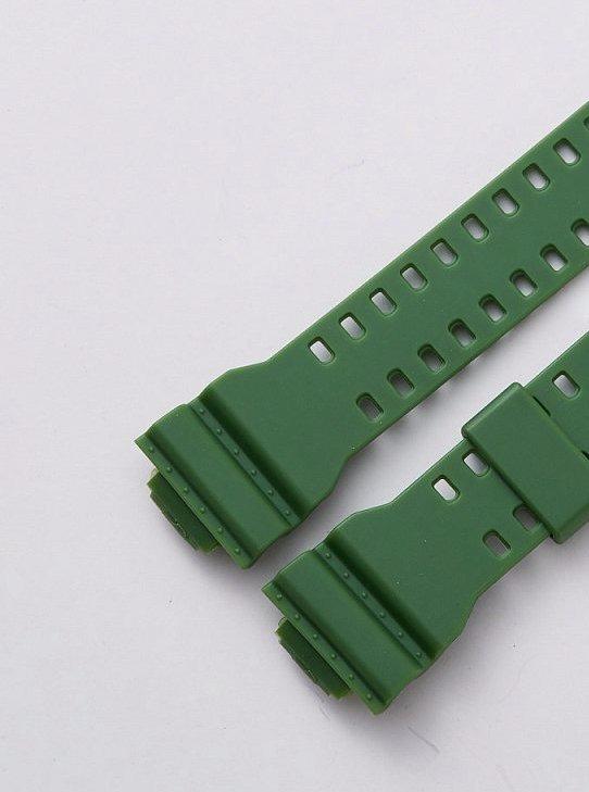 Casio G Shock Correa Resina Ga100, Gd100 Verde
