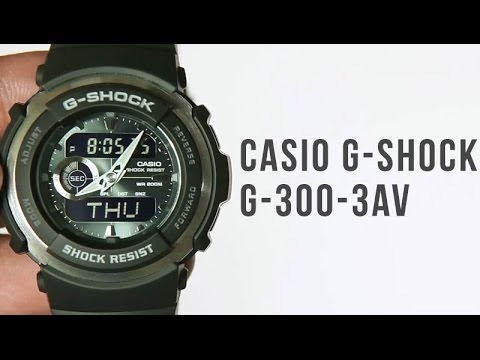 G Analógico Spike Shock Hombres 3a Casio G300 Digital O8n0wPk