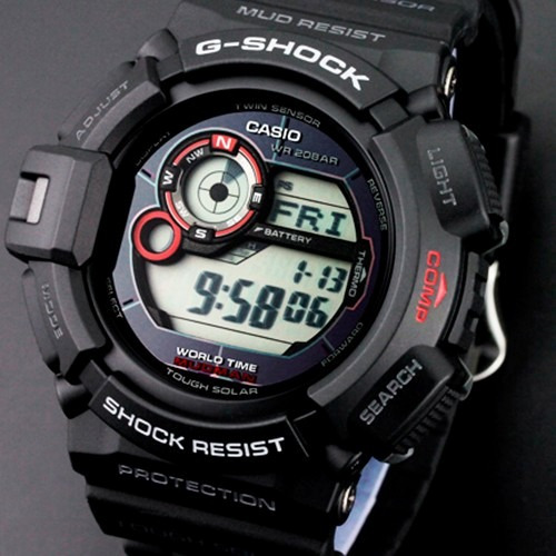 8254a215cd8d Casio G Shock G9300 Mudman Brújula   Termómetro   Solar -   4