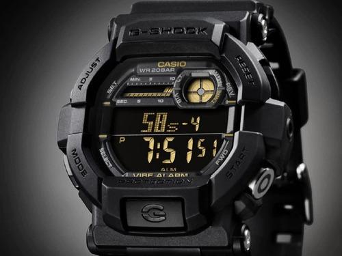 casio g-shock gd-350-1 gshock gd350 alarme vibratório