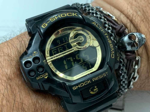 casio g-shock gdf-100gb wr200m módulo 3255 japan