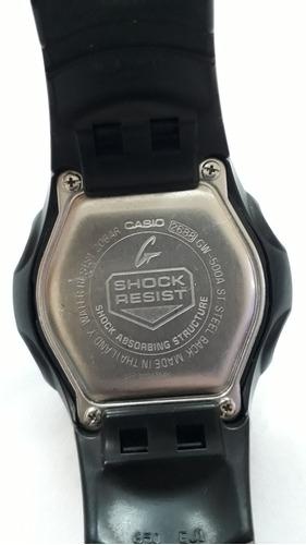casio g-shock gw500a tough solar - usado