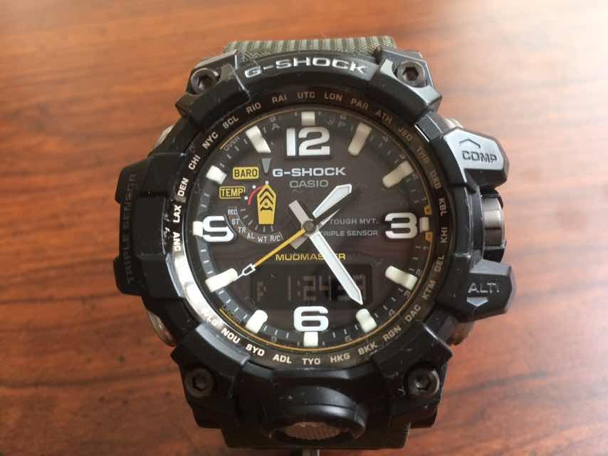ef33c8ba9 Casio G-shock Mudmaster Triple Sensor Negro/verde - $ 8,000.00 en ...