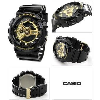 862f7b2a0719 Casio G Shock Negro Con Dorado -   169.900 en Mercado Libre