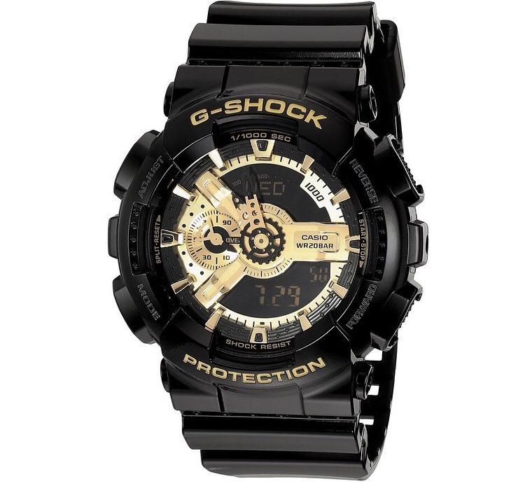 Casio G Shock Negro Con Dorado -   169.900 en Mercado Libre 1d273dadd
