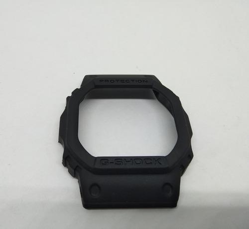 casio g shock repuesto bisel carcaza dw 5600 e negro