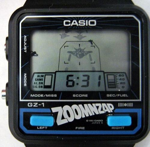 casio game & watch zoomnzap [gz-1]