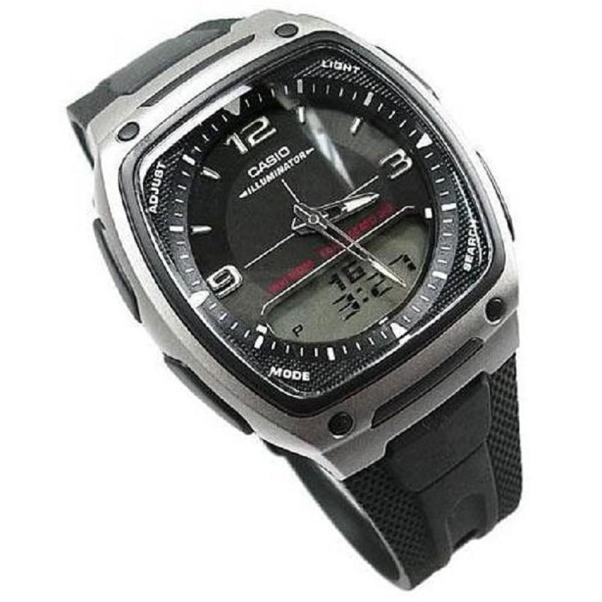 2c1531ae29f1 Cargando zoom... reloj casio aw-81-1a1 digital negro para hombre. Cargando  zoom.