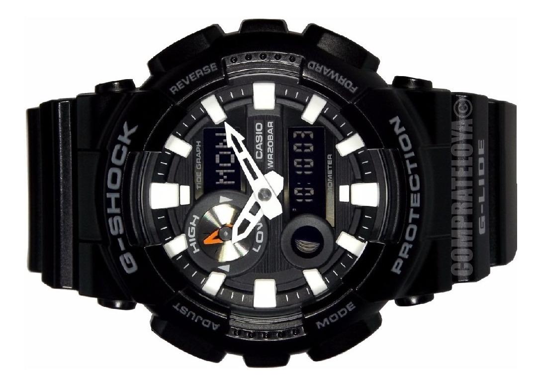 Reloj Gax Garantìa Hombre G Shock 100b Original 1adr Casio 3A5RLj4