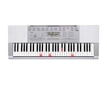 casio lk280 61-key con luz sensible al tacto del teclado p