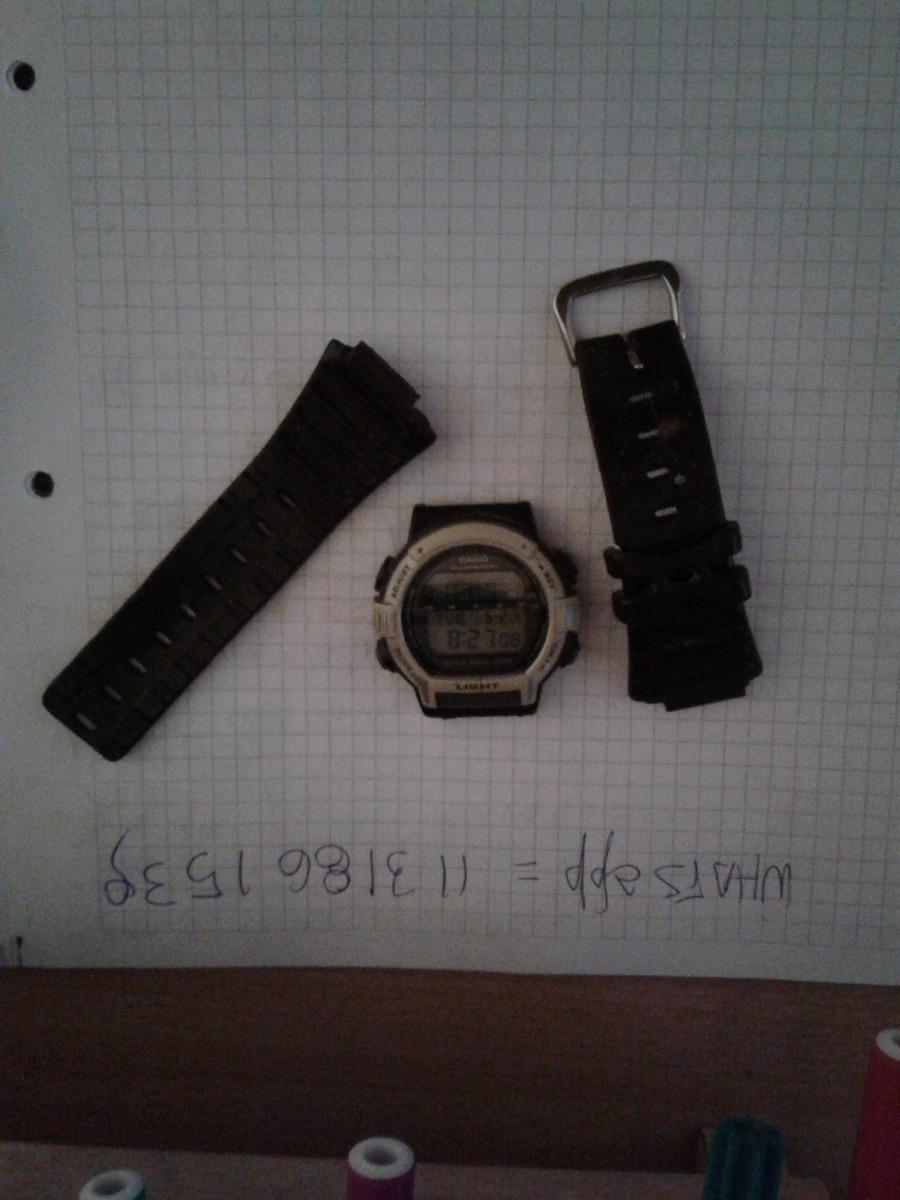 78623710f167 casio lote x 2 relojes pesca ft200+ aq-517g análogo digital. Cargando zoom.